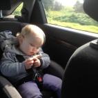 'Too sleepy to eat my cheese sanger'!