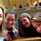 Chez, Larni, Jo & Jen in Melbourne