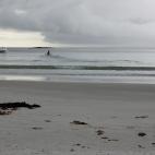 Recherche Bay - a storm brewing!