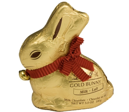 gold bunny- lindt