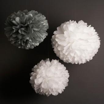white-and-grey-pom-poms