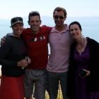 Sam, Chris, Nick & Manni