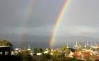 A birthday rainbow
