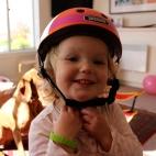 Poppy's new helmet