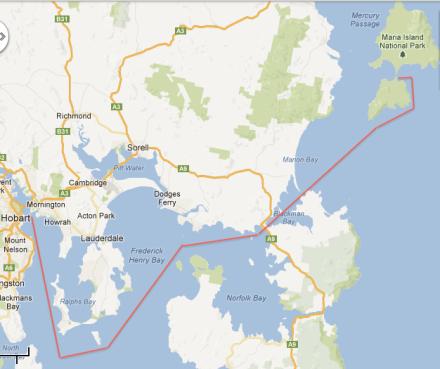 Hobart - Maria Island