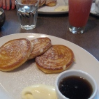 Pikelets at The European
