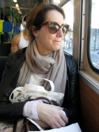 Melissa on Tram No. 72