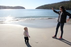 Maggie & Tup at Fortescue Bay