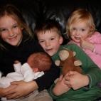 Cousins - Nina, James, George & Poppy
