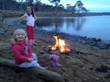 Campfire at Biddy's