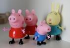 Pepper Pig, George & Miss Rabbit