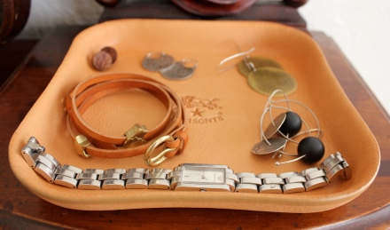 Il Bisonte Leather Tray