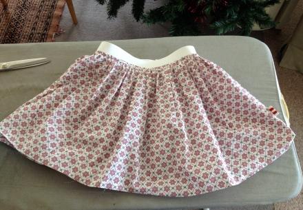 Poppy's skirt