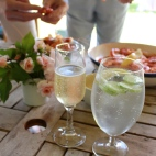 Prawns & Champagne