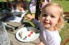 Poppy and her pavlova