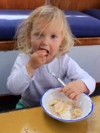 Poppy and her porridge