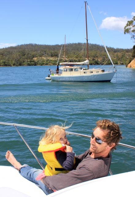 Poppy & Nick at The Gentlemans - Bruny Island