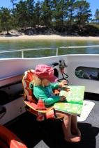 Poppy's travel activity book