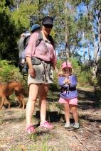 Bushwalk from Mickeys Bay