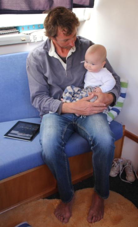 James & his Dad
