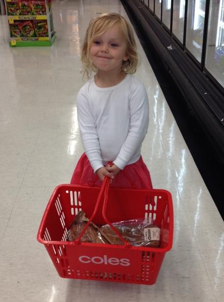 Poppy shopping