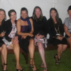 'The Wallflowers'! - Flea, Leesa, me, Kate, Sarah & Kim