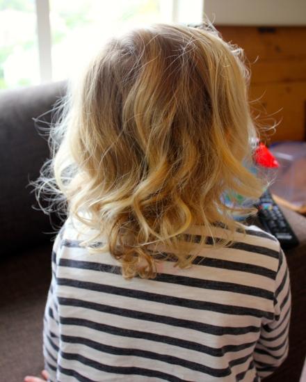 Poppy's Haircut