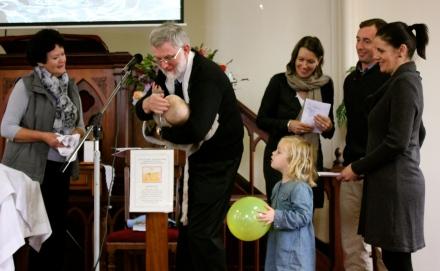 James' Baptism