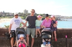The crew at Coogee Beach