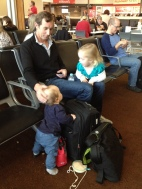 The crew at Hobart Airport