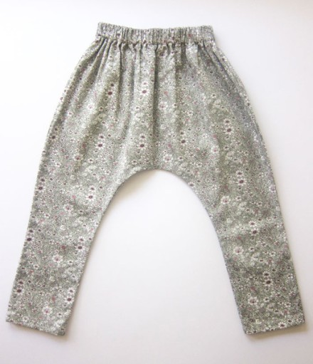 Print Bebe Pants