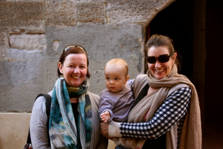 Sarah, James and I at Salamanca