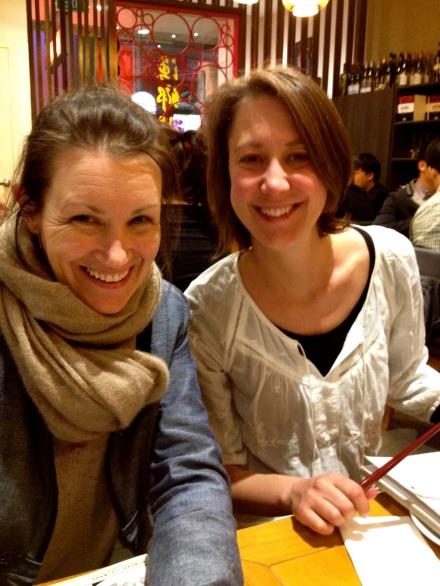 Larni & Jen at Spicy Fish