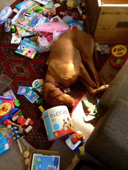 Toybox Explosion