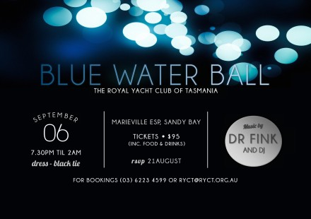 Blue Water Ball