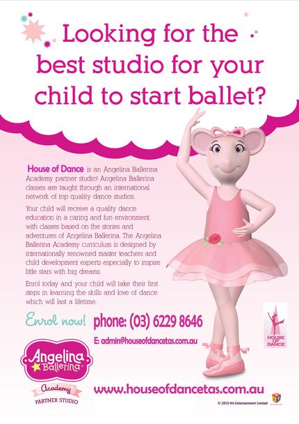 Angelina Ballerina poster -3