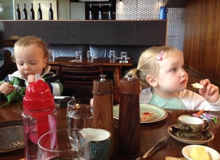 Birthday breakfast at Smolt