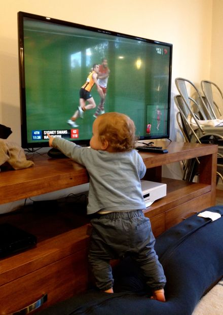 James getting into the Grand Final