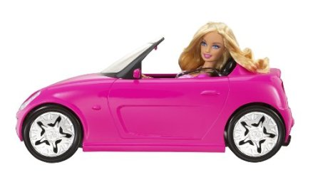 Barbie's car