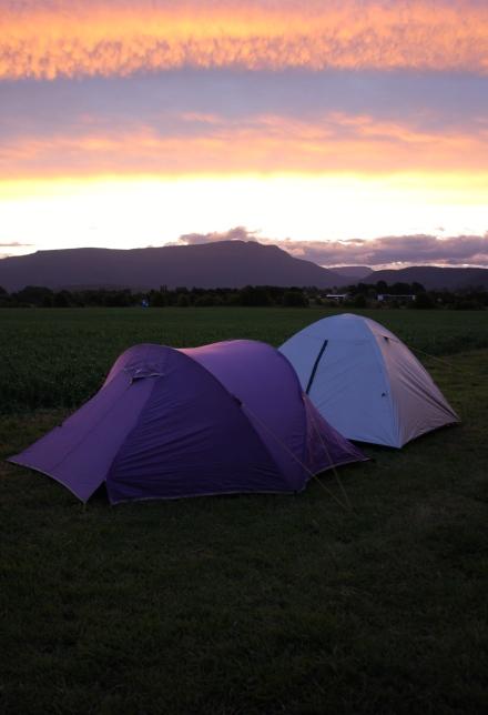 Christmas Day Camping
