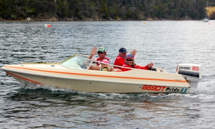 The speedy boat