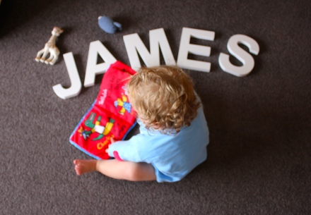 James - 18 Months Old
