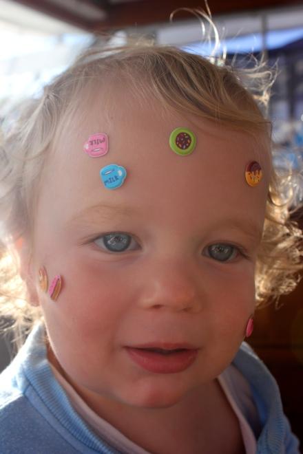 Stickers galore
