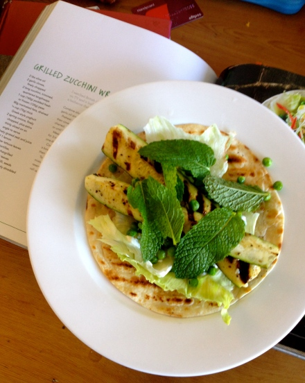 Grilled Zucchini Wraps