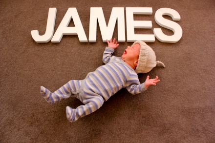 James - 1 Month Old
