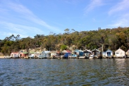 Cornelian Bay Boat Houses