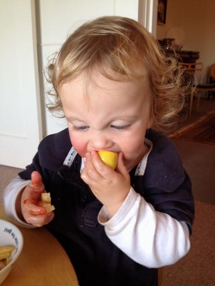 Loves sucking on lemons?