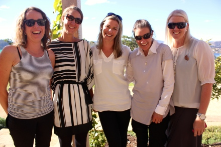 The Launy Girls - Clare, Jen, Aimee, Larni & Sam