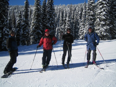 Red Mountain - Luke, Eryl, Elise & Steve