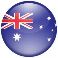 AustraliaFlagRound